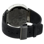 Mens-Diamond-I-Gucci-Digital-Stainless-Steel-Rubber-Band-Swiss-Watch-0-2