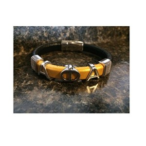 Alpha-Phi-Alpha-Fraternity-Greek-Letter-Leather-Bracelet-0