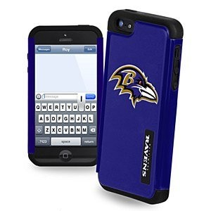 Forever-Collectibles-Dual-Hybrid-2-Piece-TPU-Case-for-iPhone-55s-Retail-Packaging-0