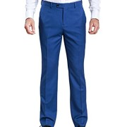 HBDesign-Mens-3-piece-1-Button-Notch-Lapel-Trim-Fit-Casual-Flat-Suite-0-3