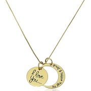 Sterling-Silver-I-Love-You-To-The-Moon-and-Back-Pendant-Necklace-18-0-0