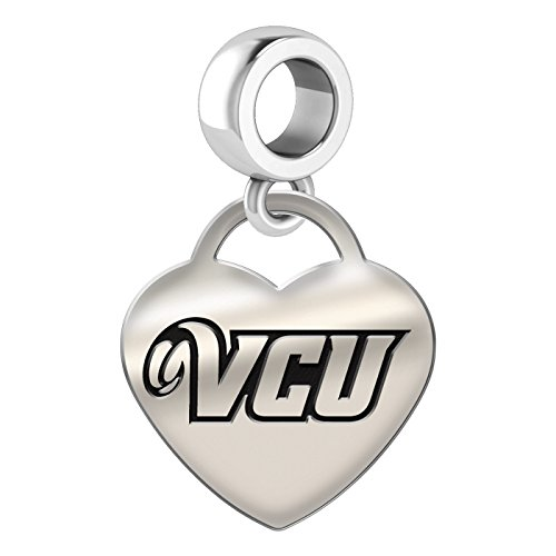 Virginia-Commonwealth-Heart-Drop-Charm-Fits-All-European-Style-Charm-Bracelets-0