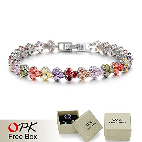 Wonderful-Dream-Opk-Hot-New-Fashion-Platinum-Plated-Bracelets-For-Women-Full-Multi-Color-Crystal-Heart-Luxury-Jewlery-Mulheres-Pulseira-Ds935Cc-yjaliBracelets499-0